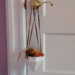 Fake Flower hanging Planter